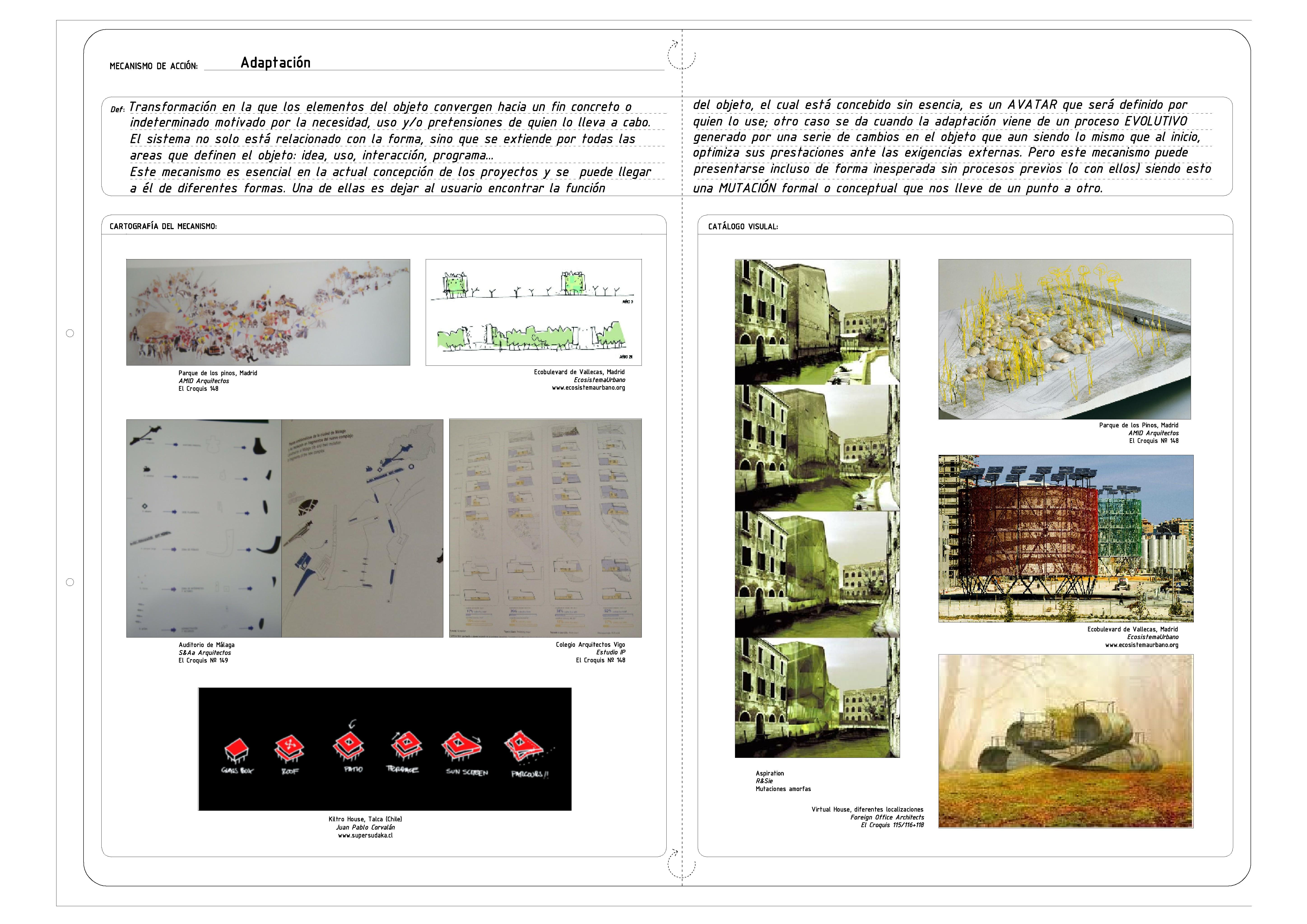 Diccionario Arquitect Nico I Adaptaci N Evolutivo