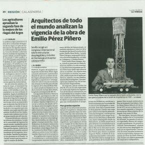 Arquitectos de todo el mundo analizan la vigencia de la obra de Emilio PérezPiñero.