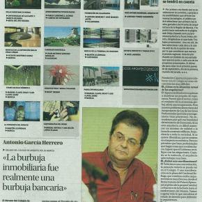 """Los arquitectos resurgen de los escombros de la crisis [Noticia diario """"LaOpinión""""]"""