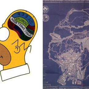 Homer y su influencia en el urbanismo de GTAV