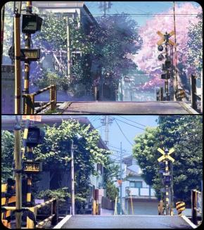 La ciudad a través del Anime: A 5 cm porsegundo