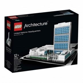 LEGO Architecture: Sede de las NacionesUnidas.