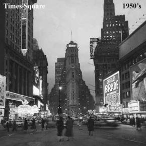 La evolución de Times Square1870-2010