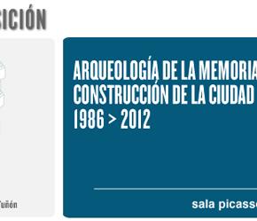 Exposición: Arqueología de la memoriareciente