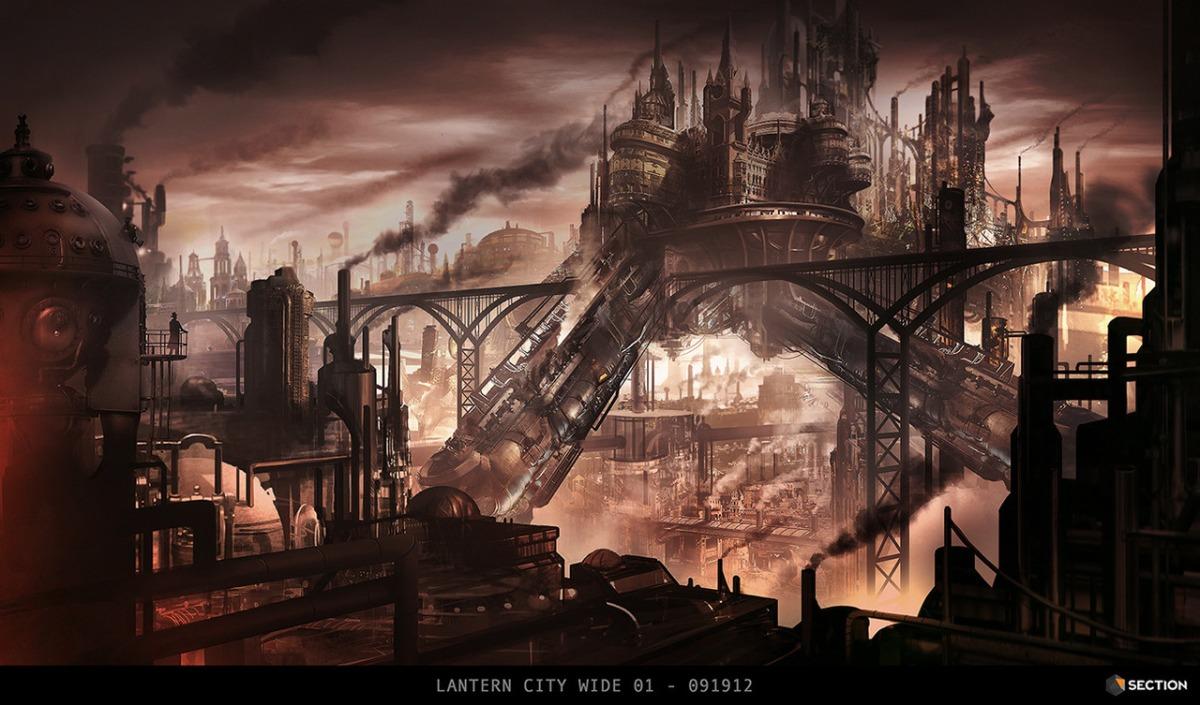 Ciudades Steampunk – Imágenes de lo que pudo haber sido ...