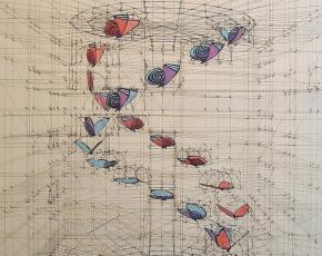 Como se hacían las cosas antes de la tecnología, este artista lo hace al estilo DaVinci