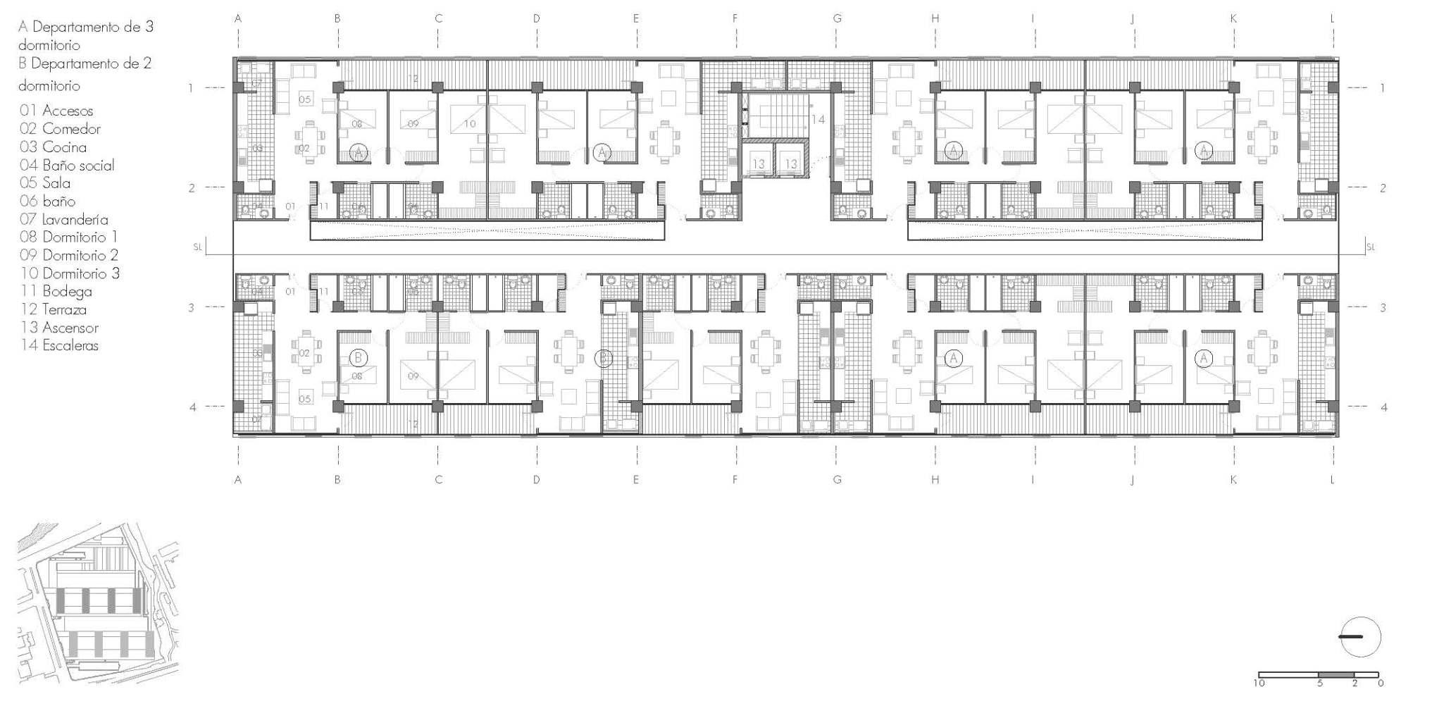 Arquitectura x estudiantes iv xavier m ndez jose for Planta arquitectonica de una oficina