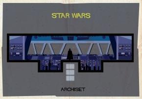 Archiset, la nueva serie de posters basados en elcine.