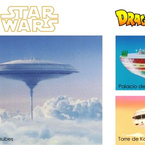 Parecidos Razonables: Star Wars x Dragon Ball