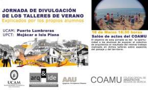 II Jornadas de Divulgación de los Talleres de Verano en elCOAMU