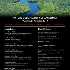 [Concurso] Nature Observatory of Amazonia –Arquideas