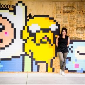 Post-it Mural By KerrieNeilen