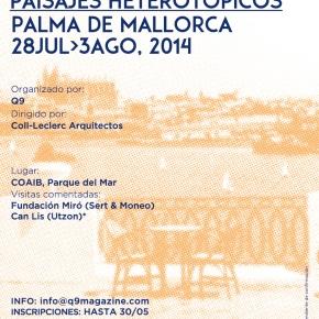 Workshop Local y Visitante (I): PaisajesHeterotópicos