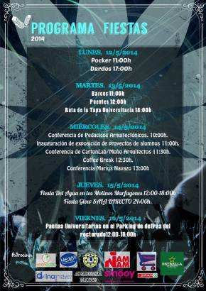 ¡¡Mañana nos vemos en la Escuela de Arquitectura deCartagena!!