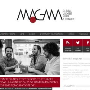 Ya está disponible nuestra entrevista en la RevistaMagma