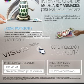 Concurso OnLine Internacional de Modelado y Animación para RealidadAumentada