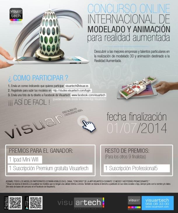 Visuartech - I Concurso internacional modelado para RA