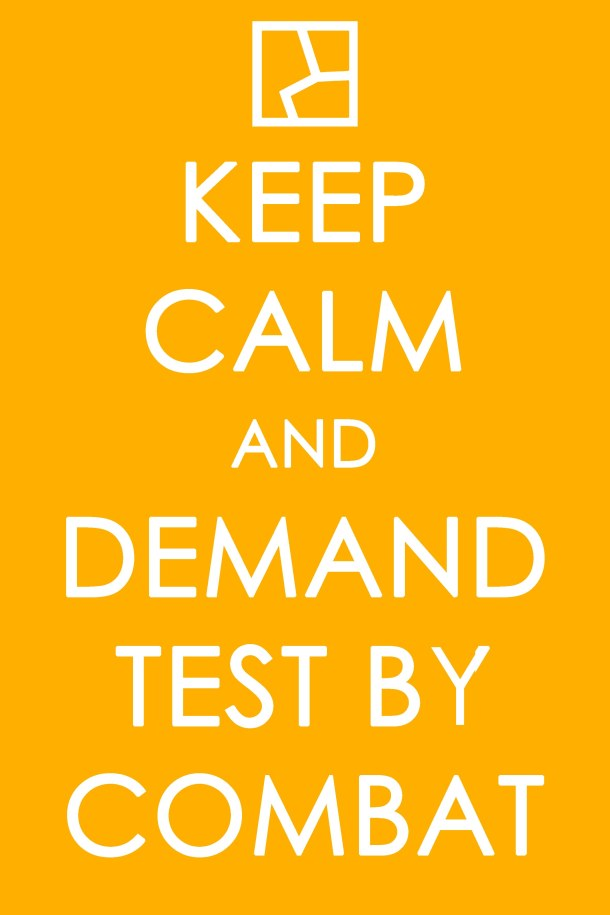 test by combat