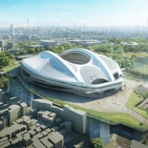 Zaha Hadid modifica su polémico estadio olímpico enJapón