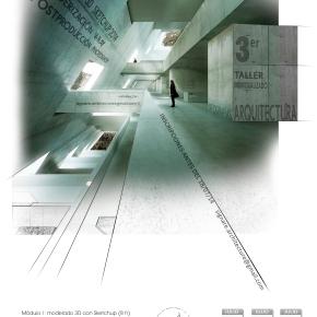 III Taller Individualizado Infografías de Arquitectura[Murcia]