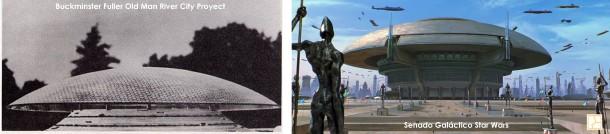fusalimientos arquitectonicos fuller vs star wars