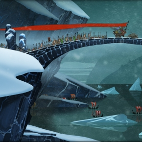 The Banner Saga – La narrativa a través del paisaje