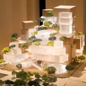 Frank Gehry se despide de su proyecto en la zonacero.