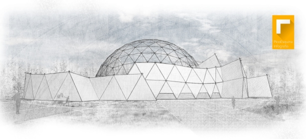 cúpula ext boceto