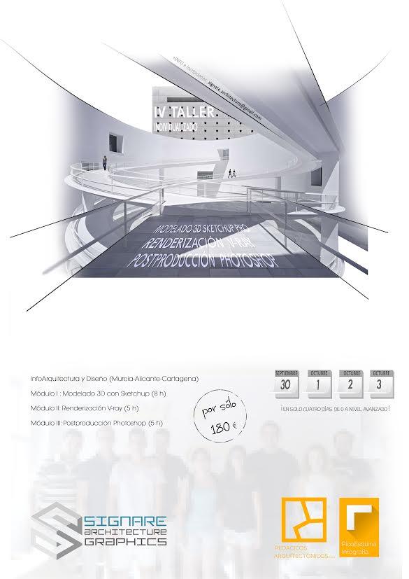 IV taller infoarquitectura Signare + Pedacicos