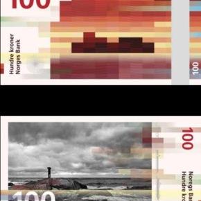 Snøhetta propone su propio diseño para los nuevos billetesnoruegos.