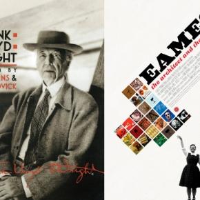 Frank Lloyd Wright y Charles y Ray Emaes enFilmin
