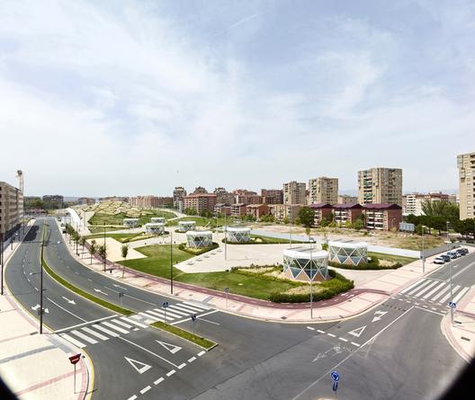 Parque Urbano y Centro de transportes - Ábalos - Sentkiewicz Arquitectos