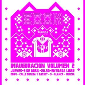 EDOM – Inauguración del Espacio Doméstico dedicado al VideoArte en Blanca Vol.2