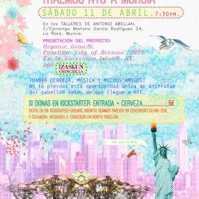 "Izaskun Chinchilla presenta su pabellón ""Organic Growth"" en Murcia [ 11Abril]"