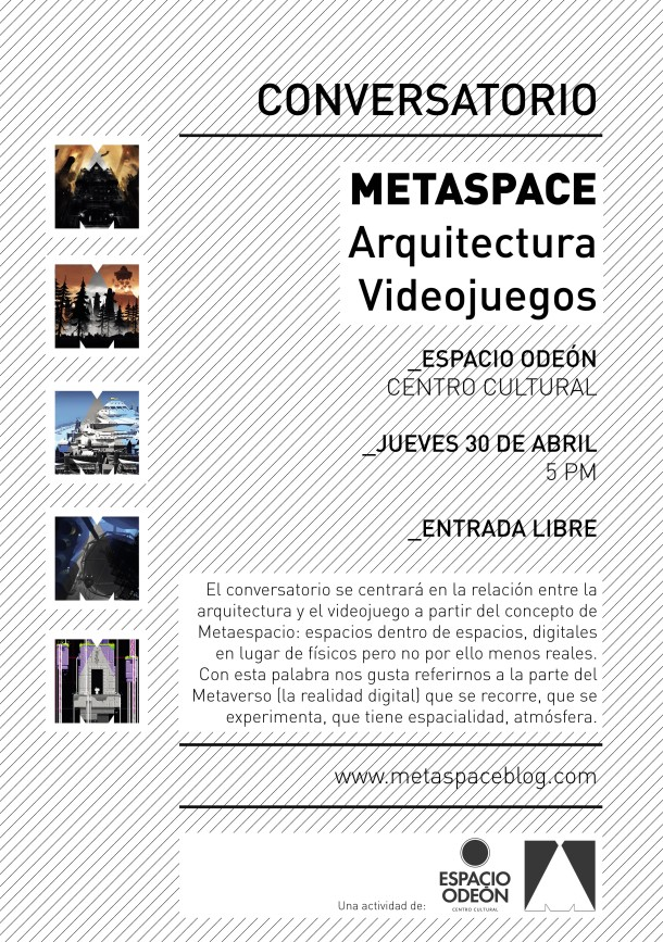 Metaspace Flyer Conversatorio