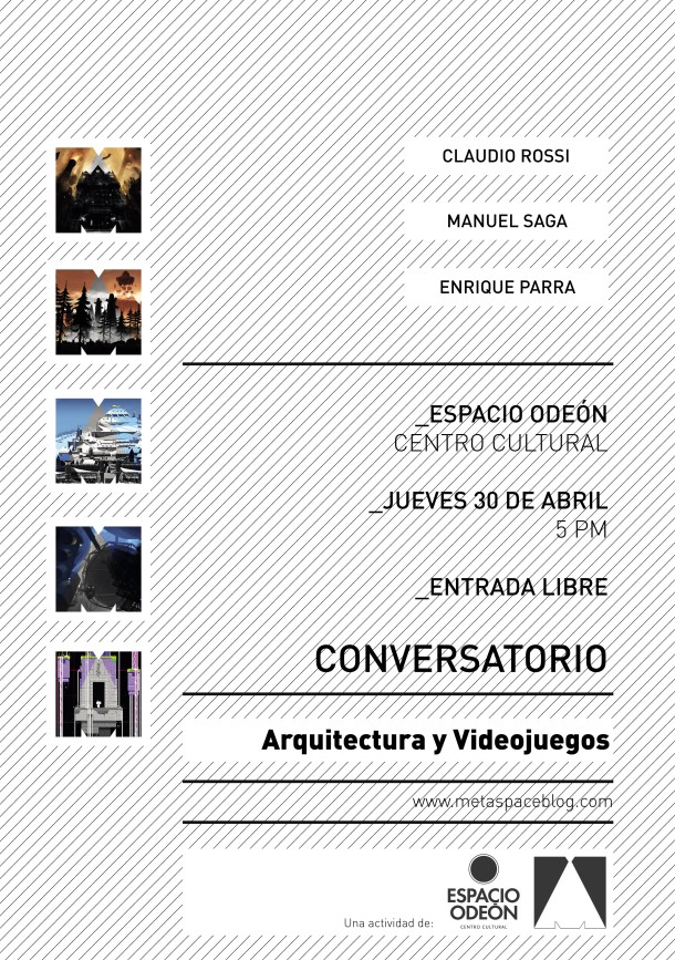 Metaspace Flyer Conversatorio