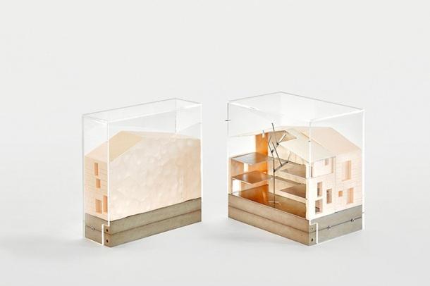 maqueta casa luz