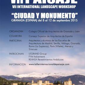 VII International Landscape Workshop – Ciudad yMonumento