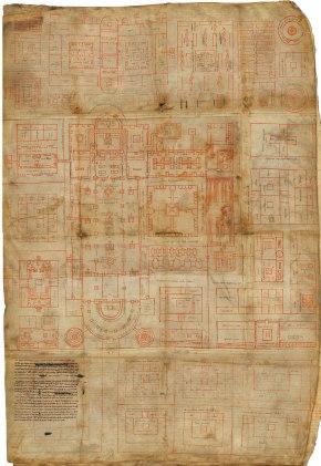 Posiblemente el plano de arquitectura más antiguoconservado