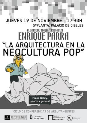 [Conferencia] Pedacicos Arquitectónicos: La arquitectura en la neoculturapop