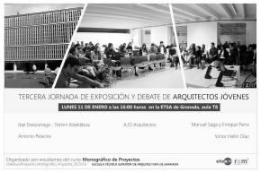 Mañana participamos en la III Jornada de Exposición y debate de ArquitectosJóvenes