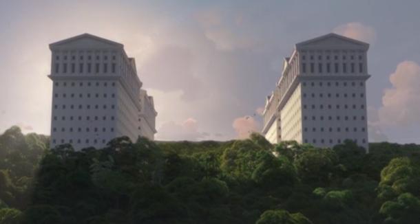 La residencia de los dioses