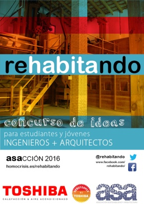 REHABITANDO 2016 – Concurso de ideas para estudiantes y jóvenes arquitectos+ingenieros