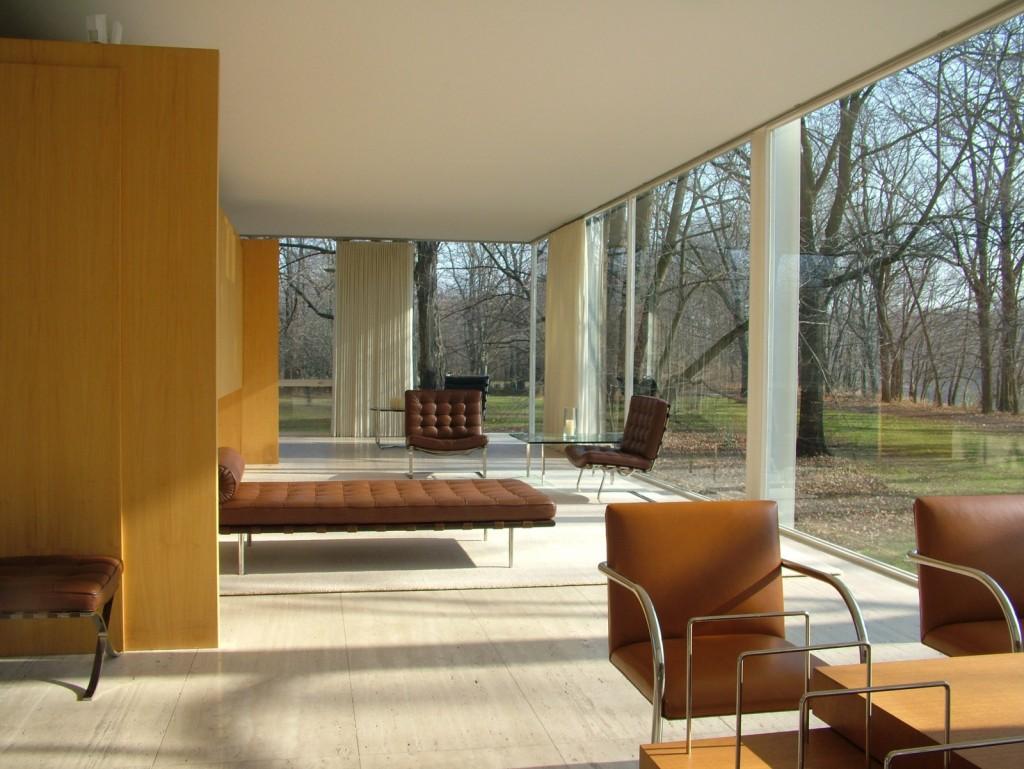 Bruce wayne manor obra maestra del movimiento moderno - Casa farnsworth ...