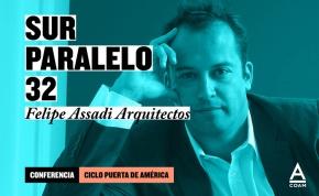 "Conferencia Felipe Assadi + Expo ""Sur Paralelo 32"" enCOAM"