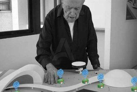 Niemeyer poniendo pokeparadas.