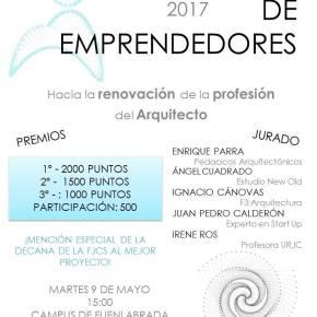 Concurso de Emprendedores URJC: Hacia la renovación de la profesión deArquitecto