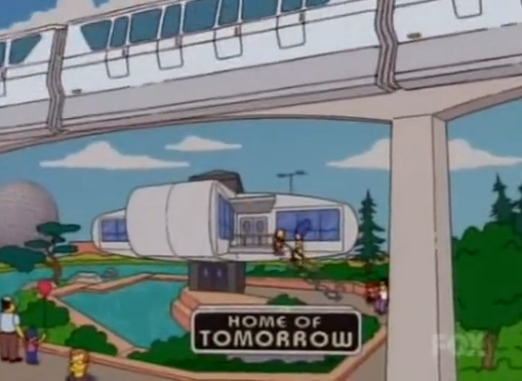 Parecidos razonables centro bot n vs home of tomorrow for Tomorrow s home